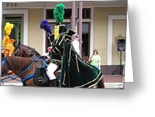 New Orleans - Mardi Gras Parades - 121258 Greeting Card