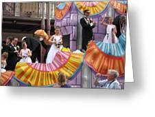 New Orleans - Mardi Gras Parades - 121267 Greeting Card