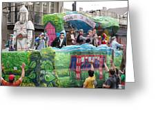 New Orleans - Mardi Gras Parades - 121278 Greeting Card