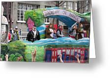 New Orleans - Mardi Gras Parades - 121279 Greeting Card