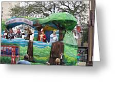 New Orleans - Mardi Gras Parades - 121283 Greeting Card