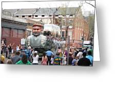New Orleans - Mardi Gras Parades - 121285 Greeting Card