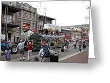 New Orleans - Mardi Gras Parades - 121286 Greeting Card