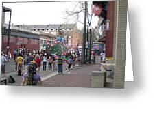 New Orleans - Mardi Gras Parades - 121290 Greeting Card