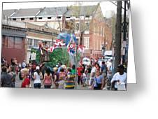 New Orleans - Mardi Gras Parades - 121291 Greeting Card