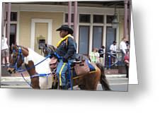 New Orleans - Mardi Gras Parades - 121299 Greeting Card