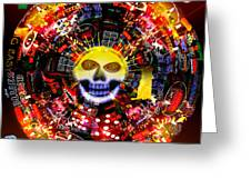 New Orleans Night Greeting Card