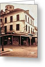 New Orleans - Old Absinthe Bar Greeting Card