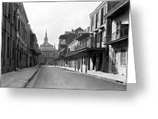 New Orleans Old French Quarter Greeting Card