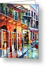 New Orleans Rainy Day Greeting Card