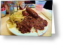 New Orleans Red Beans And Rice Greeting Card
