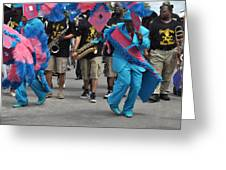 New Orleans Second Line Greeting Card