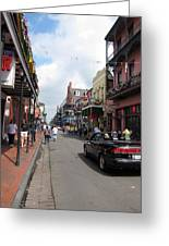 New Orleans - Seen On The Streets - 12122 Greeting Card