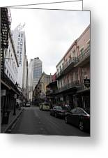 New Orleans - Seen On The Streets - 121235 Greeting Card