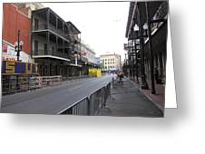 New Orleans - Seen On The Streets - 121237 Greeting Card