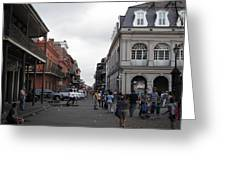 New Orleans - Seen On The Streets - 121241 Greeting Card