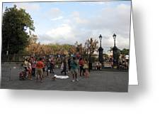New Orleans - Seen On The Streets - 121246 Greeting Card