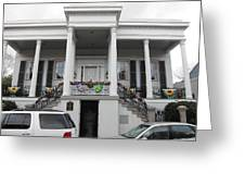 New Orleans - Seen On The Streets - 121253 Greeting Card