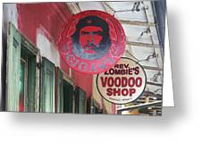 New Orleans Shops Greeting Card
