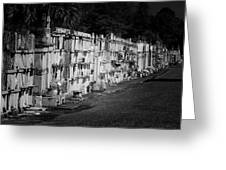 New Orleans St Louis Cemetery No 3 Greeting Card by Christine Till