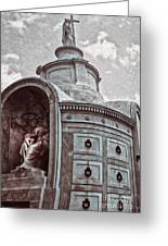 New Orleans - St.louis Cemetery Greeting Card