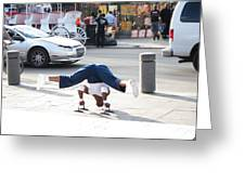 New Orleans - Street Performers - 121211 Greeting Card
