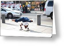 New Orleans - Street Performers - 121212 Greeting Card