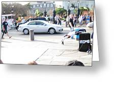 New Orleans - Street Performers - 121214 Greeting Card