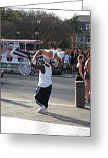 New Orleans - Street Performers - 121217 Greeting Card