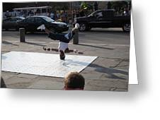 New Orleans - Street Performers - 121218 Greeting Card