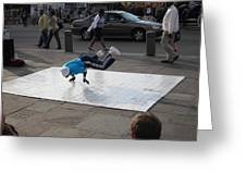 New Orleans - Street Performers - 121227 Greeting Card