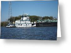 New Orleans - Swamp Boat Ride - 121229 Greeting Card