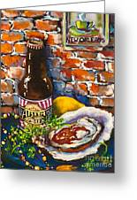 New Orleans Treats Greeting Card by Dianne Parks