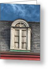 New Orleans Window Greeting Card by Brenda Bryant