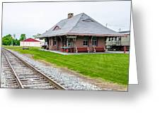 New Oxford Depot 2558 Greeting Card