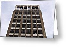 Vacant Downtown Building Los Angeles 3 Greeting Card