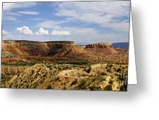Ghost Ranch Landscape New Mexico 12 Greeting Card