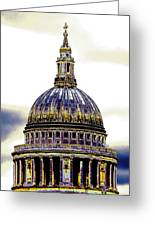 New Photographic Art Print For Sale   Iconic London St Paul's Cathedral Greeting Card