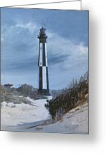New Point Comfort Light Greeting Card