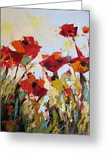 New Poppies Greeting Card