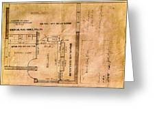 New Post Office Plans 1961 Greeting Card
