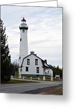 New Presque Isle Lighthouse Greeting Card