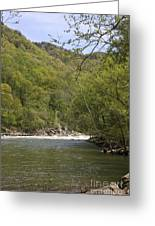 New River Gorge Greeting Card