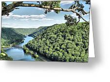 New River Greeting Card