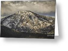 New Snow On Maggie's Peak Greeting Card