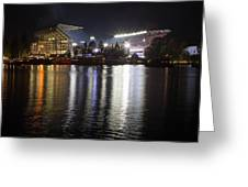 New Husky Stadium Reflection Greeting Card