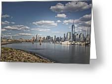 New World Trade Center Greeting Card
