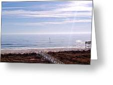 New Year Carolina Beach Greeting Card