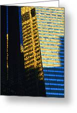 1984 New York Architecture No2 Greeting Card