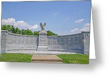 New York Auxiliary State Monument Greeting Card